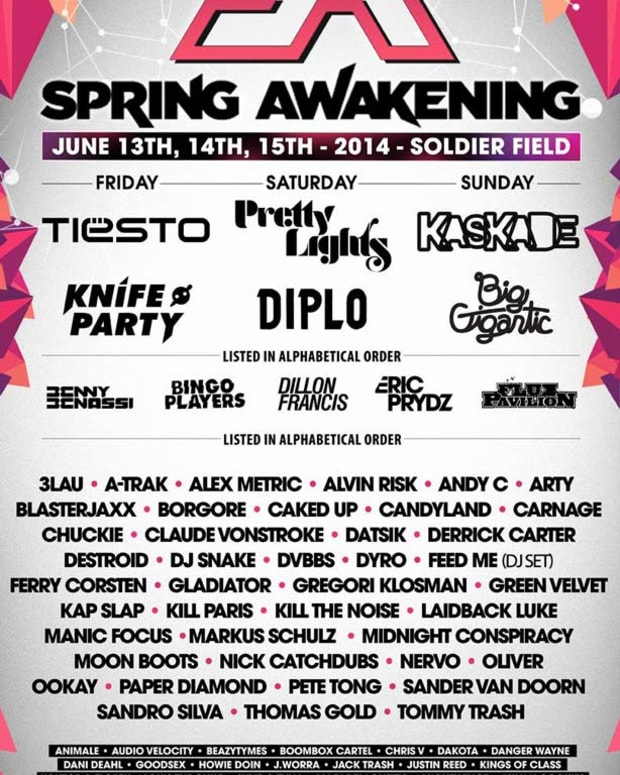 Spring Awakening Music Festival In Chicago Announces Massive Three Day Line Up - EDM Culture
