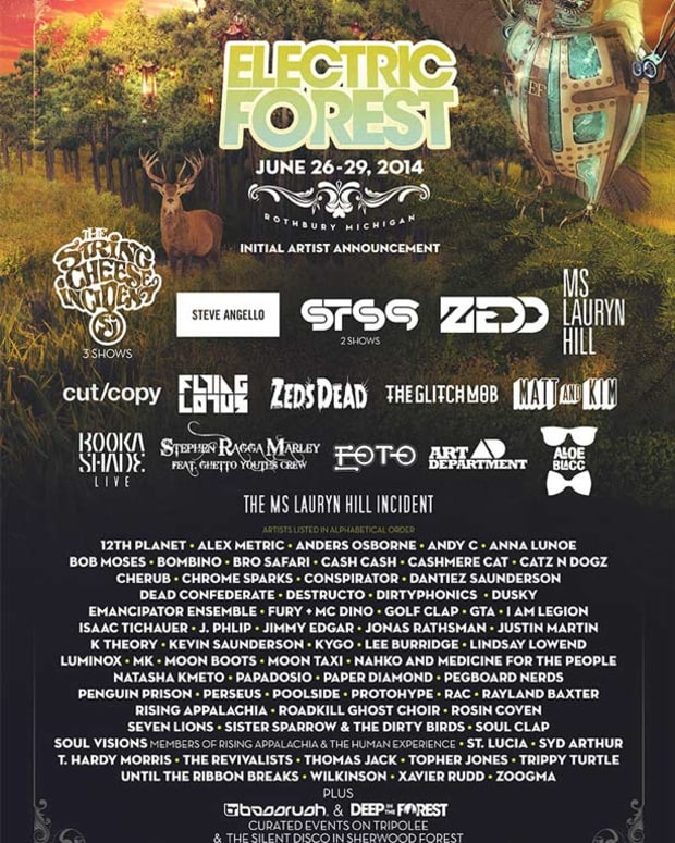 Electric Forest Releases Initial Line Up Despite Legal Battle