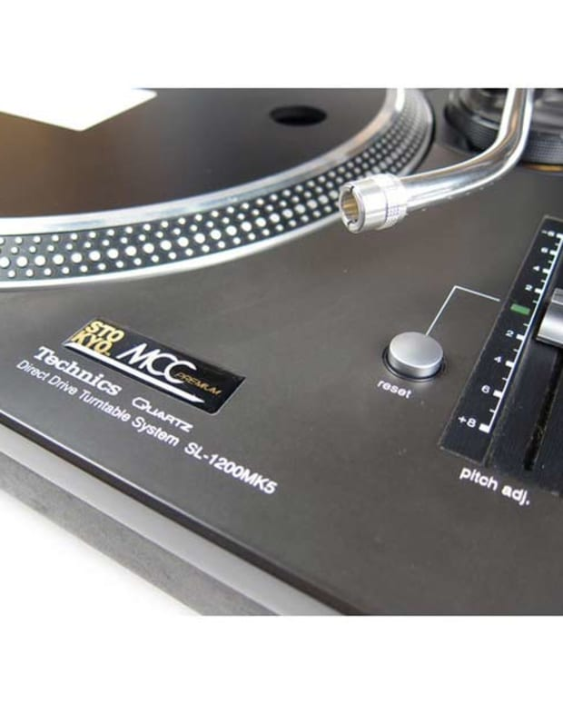 DJ Gear: Technics 1210 Stokyo MCC Refurbished Turntable