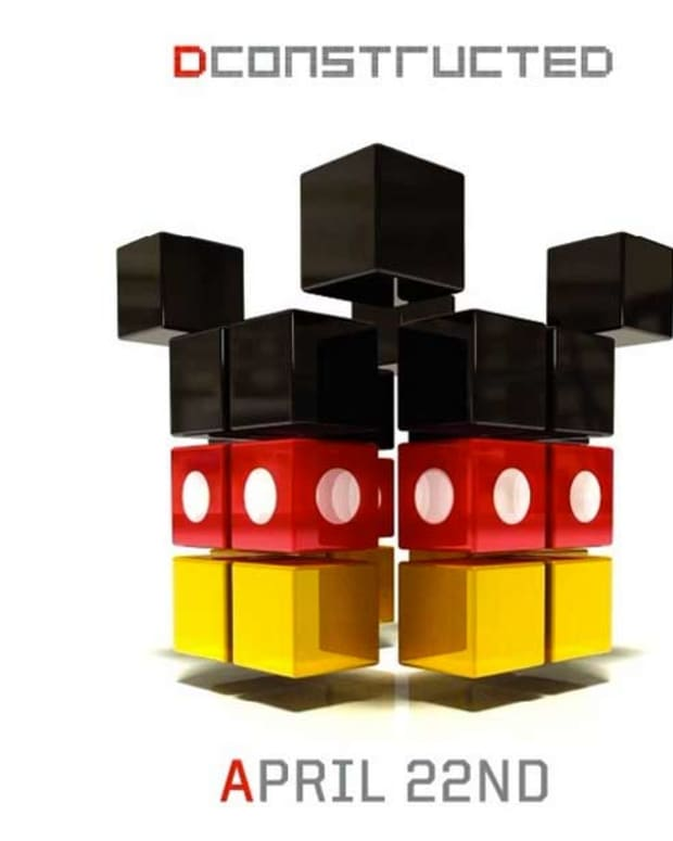 DCONSTRUCTED - New Electronic Music Remixes Made From The Disney Catalog
