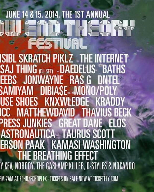 Low End Theory Announces 1st Annual Low End Theory Festival Lineup!