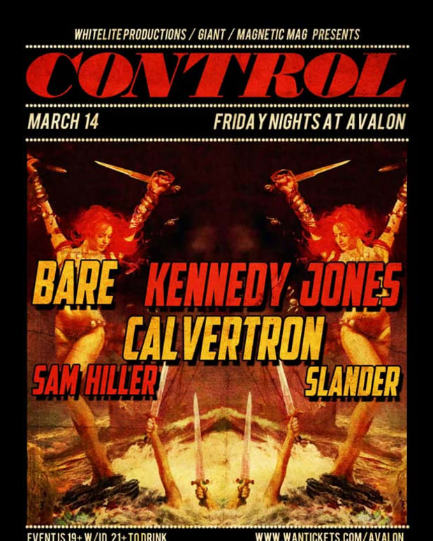Control Tonight- Bare, Kennedy Jones, Calverton, Sam Hiller & Slander