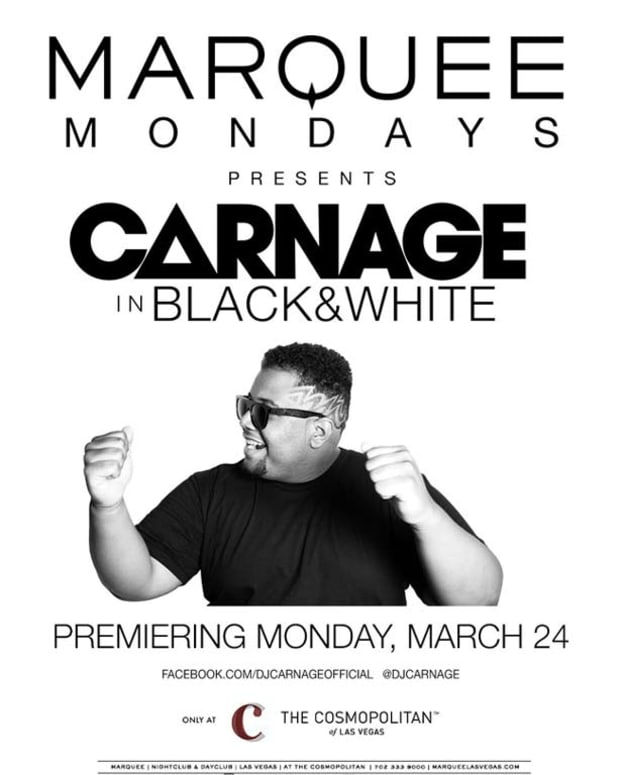 Carnage Kicks Off Special Monday Night Black & White Party At Marquee Las Vegas - EDM Culture