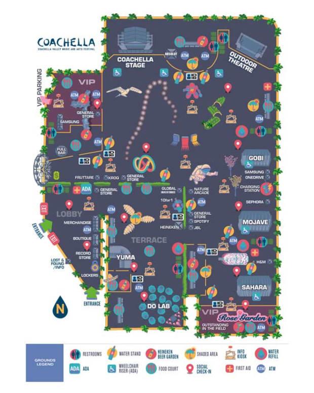 Coachella Releases 2014 Festival Maps