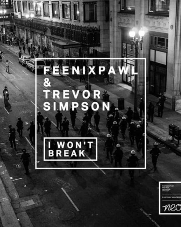 "New Electronic Music Premiere: Feenixpawl & Trevor Simpson - ""I Won't Break"" (Original Mix)"
