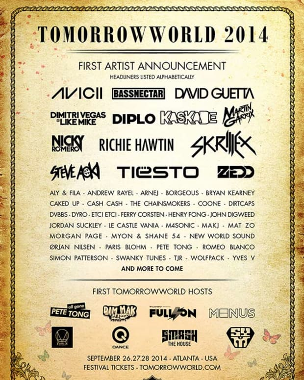 TommorowWorld 2014 Lineup Announced