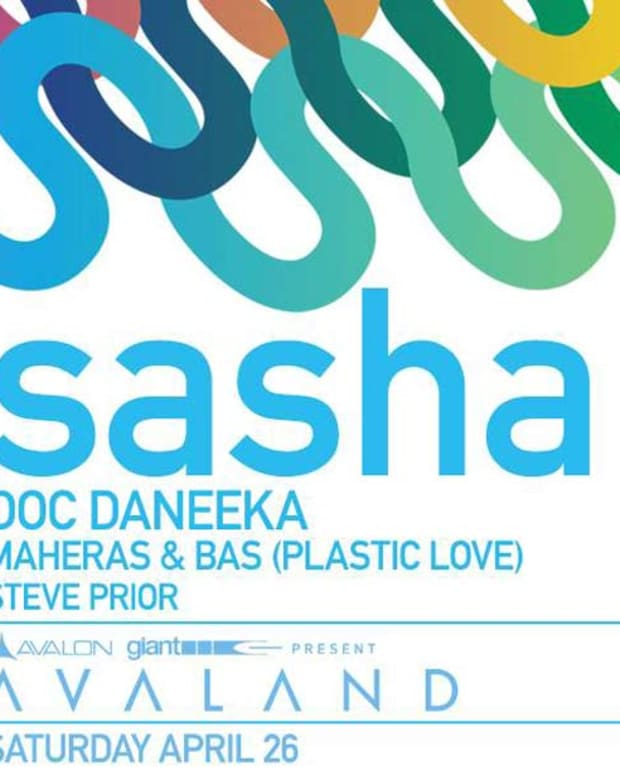 Sasha To Bring True Progressive House Music To Avalon This Saturday