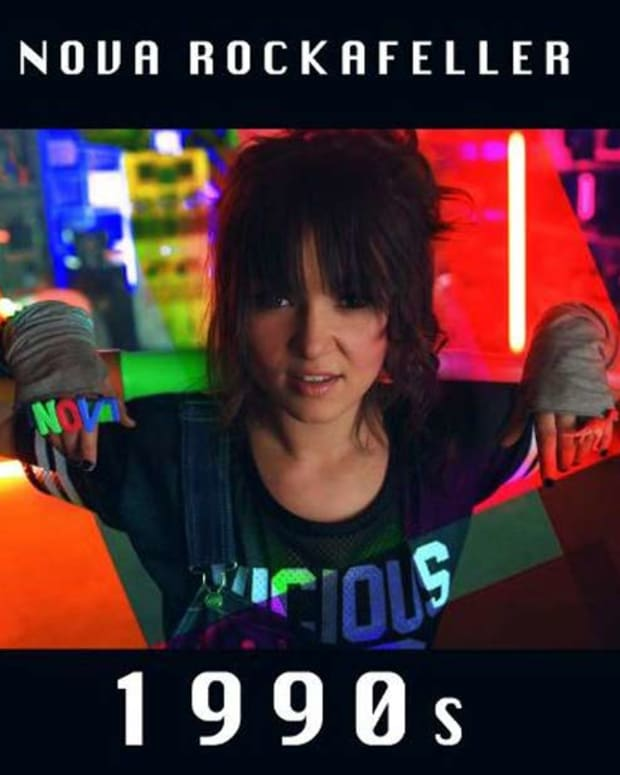 "Premiere: Nova Rockafeller's ""1990's"" (Justin Warfield Remix0"