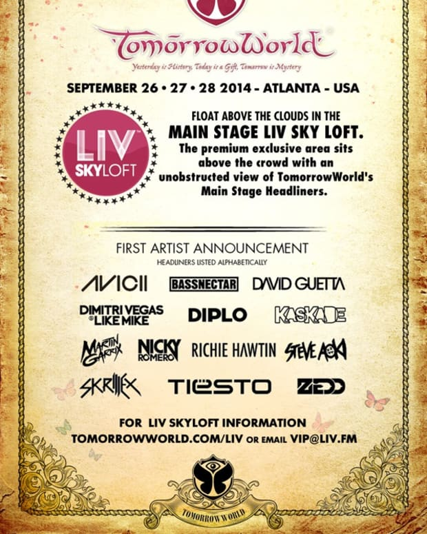 LIV Nightclub Returns to TomorrowWorld Festival