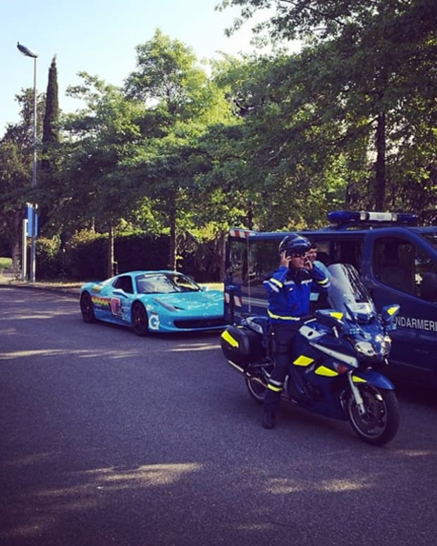 deadmau5 Banned From Driving In France On Gumball 3000