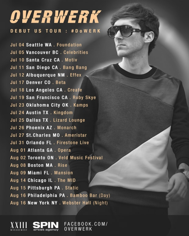 OVERWERK Talks Debut U.S. Tour, Production Prowess And Musical Theory