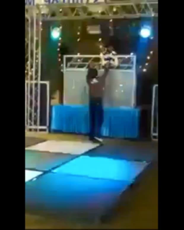 EDM Struggles: DJ Slaps Dancer After His Booth Gets Torn Down