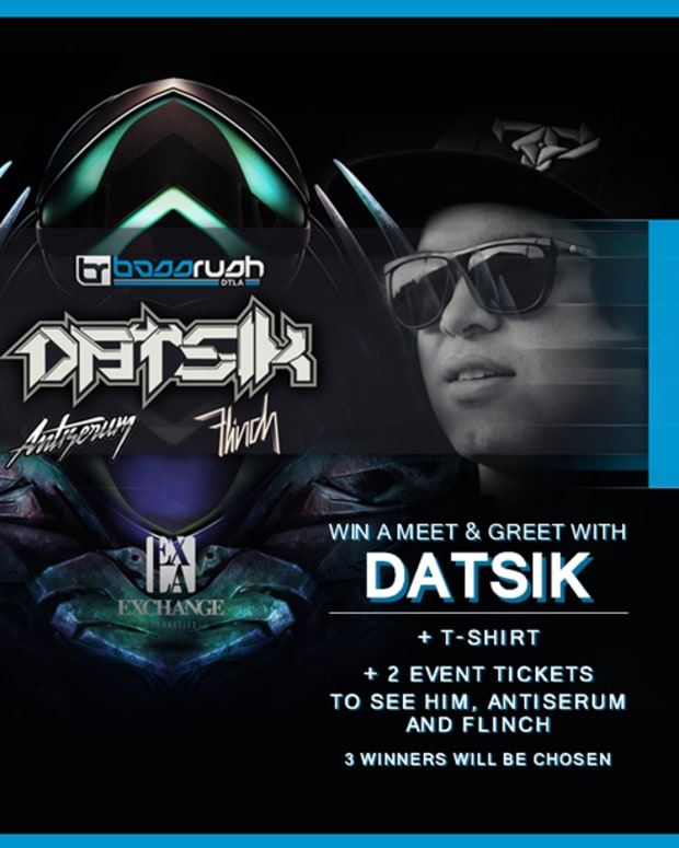 LA- Win A Meet & Great With Datsik @ Exchange Tomorrow!