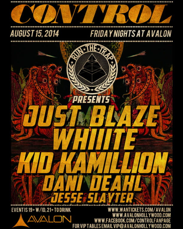 Control Tonight: Just Blaze, Whiiite, Dani Deahl & More!