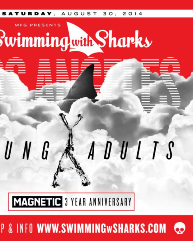 swimming with sharks, the standard, house music, los angeles