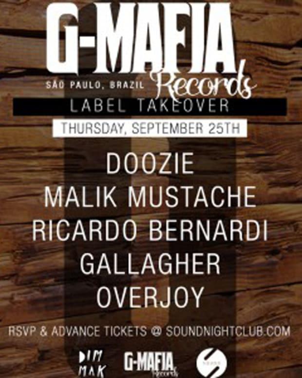 Sound Nightclub x Dim Mak Present G-Mafia Label Takeover: Doozie/Malik Mustache/Ricardo Bernardi