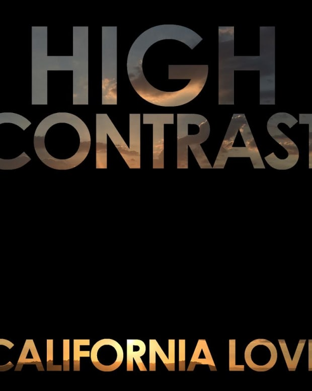 high contrast - california love
