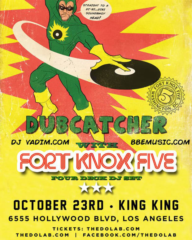 LA Event: DJ Vadim & Fort Knox Five @ King King 10/23/14