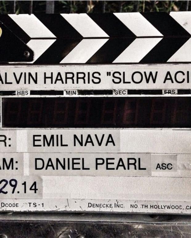 Calvin Harris Drops Another New Single - Slow Acid