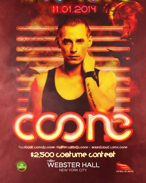 Spotlight: Coone At frite nites Inside Webster Hall 11/1/14