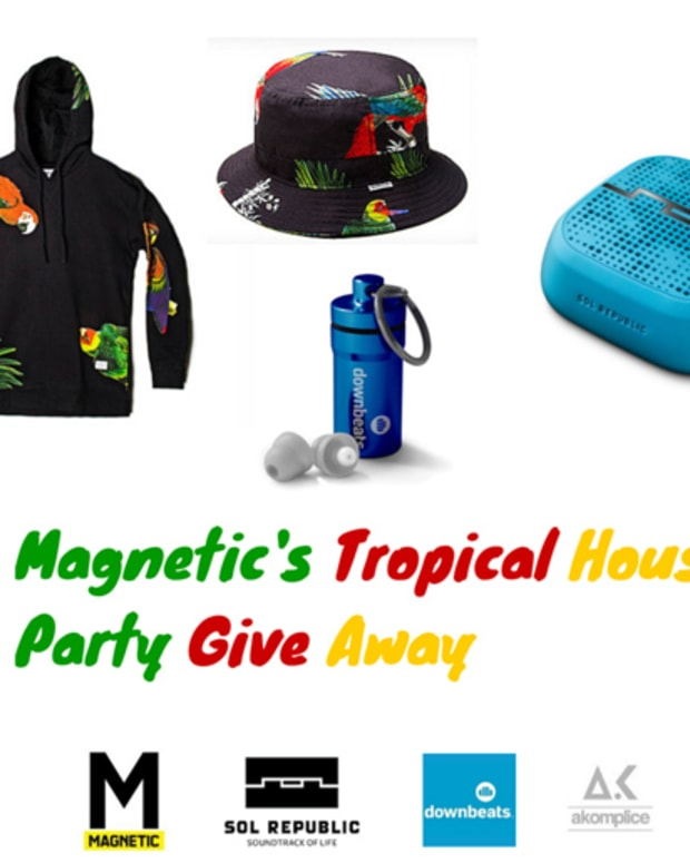 Contest: MAGNETIC's Tropical House Party Giveaway