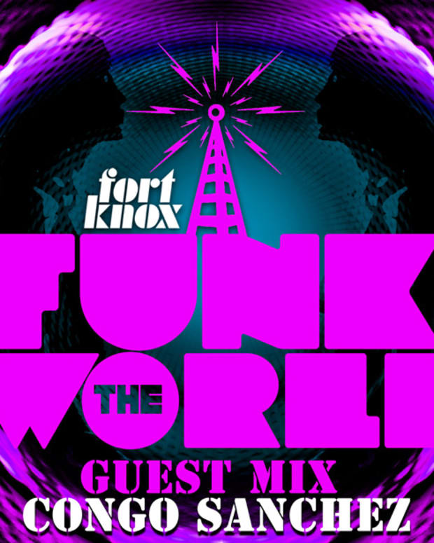 Free Download: Funk The World #27 Mixed By Congo Sanchez