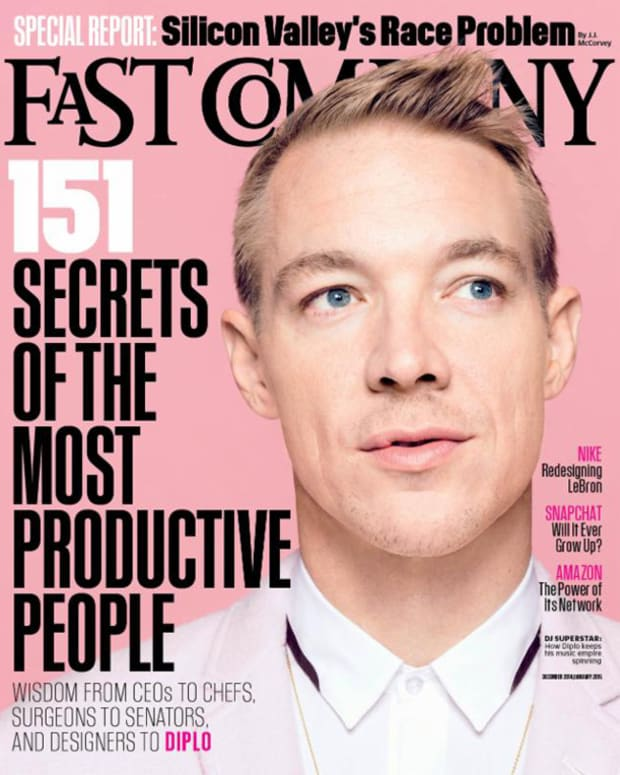 "Diplo Makes Cover Of Fast Company's ""Most Productive People Issue"""