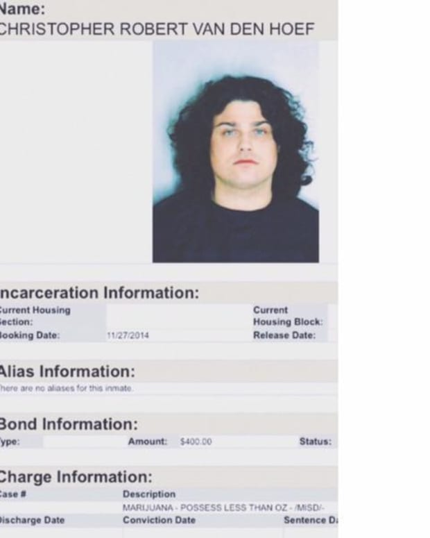 Chris Chronicles Of DVBBS Gets Arrested In Atlanta For Narcotics