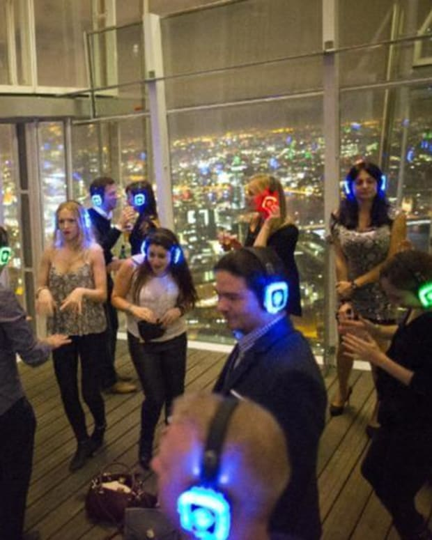 Silent Disco Brings Quiet Riot To London