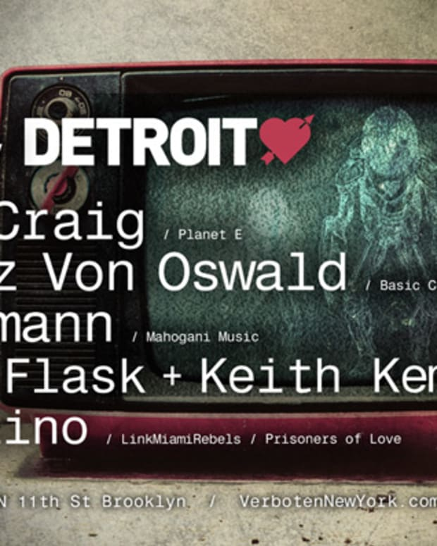 Carl Craig And Friends Kick Off Detroit Love Tour Concept In NYC