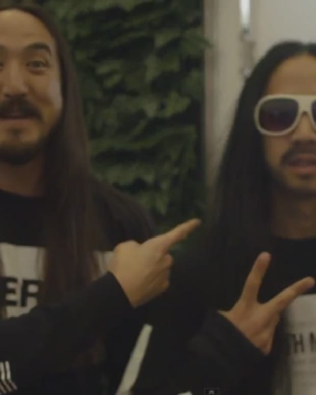 Watch What Happens When The Real Steve Aoki Trolls The Crowd Stereosonic