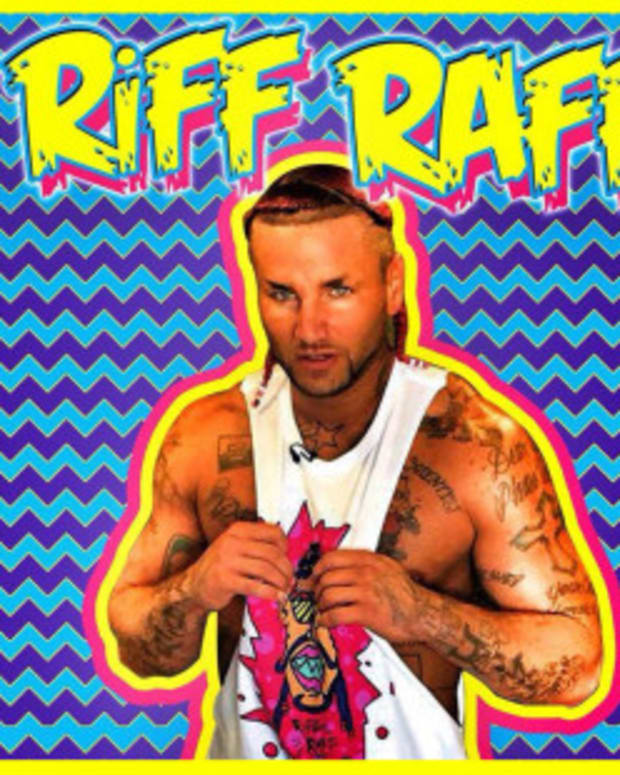 RiFF RaFF And Hulk Hogan Wrestling Collabo FTW