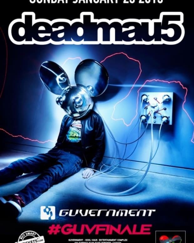 deadmau5 20-minute Epic In Works For Guvernment Finale