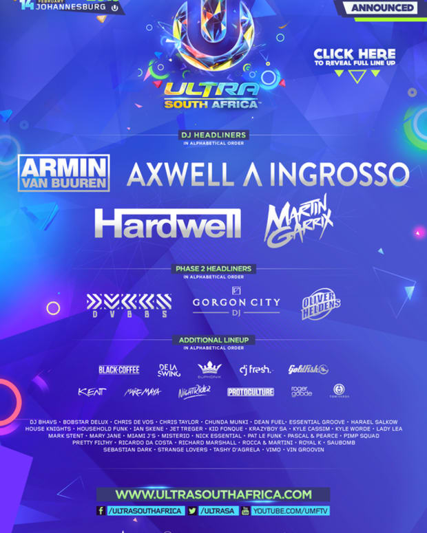 Full Ultra South Africa Lineup Revealed