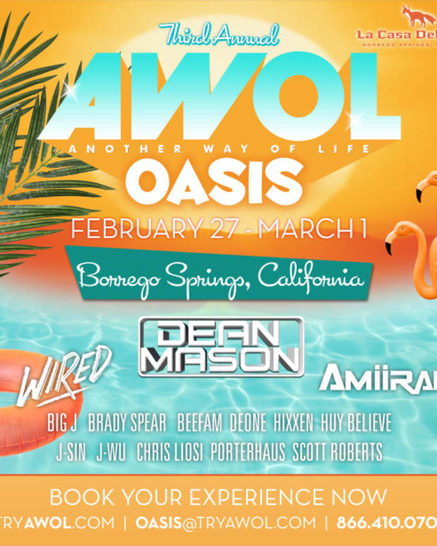 AWOL Oasis Resort Takeover w/ Dean Mason (You're Invited)