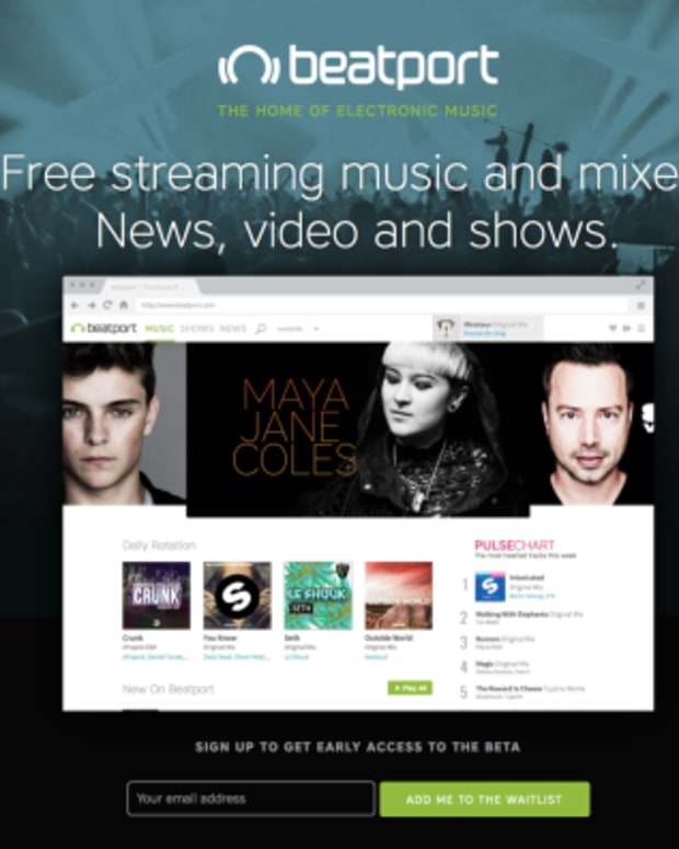 Beatport Launches Free Streaming Service