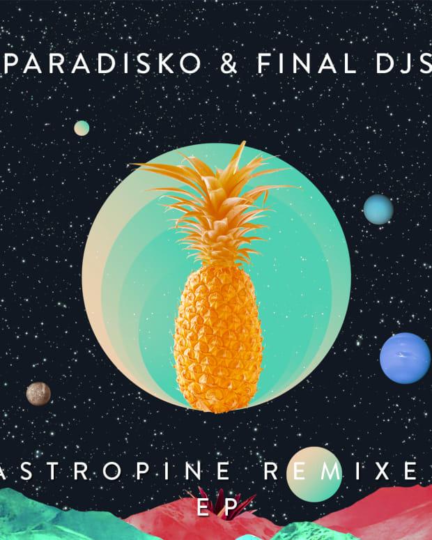 Paradisko - Astropine Remixes EP Cover