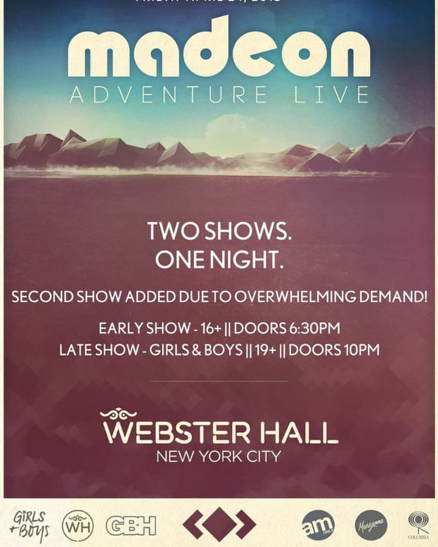 Do You Want To Go To The Sold Out Madeon Show At Webster Hall On April 24th - Magnetic Has The Exclusive Code To Get Tickets