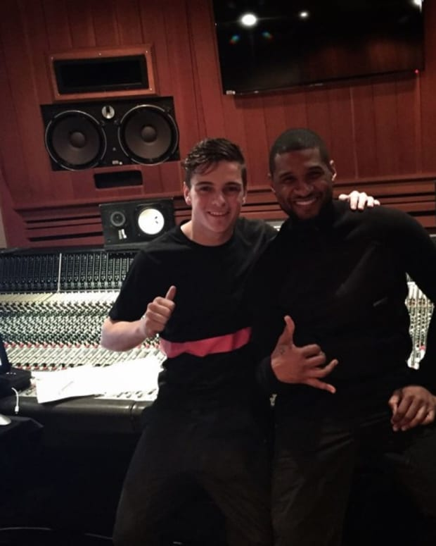 Martin Garrix Teases New Track With Usher