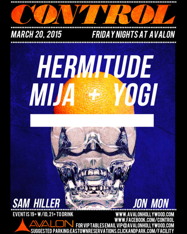Get in the mood with Hermitude, Mija + Yogi this Friday at Avalon