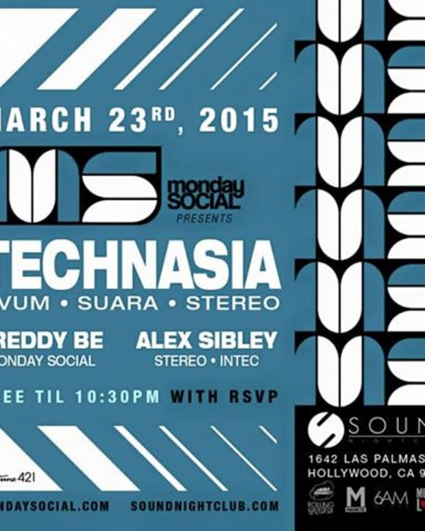 MONDAY SOCIAL BRINGS THE SUARA HEAT ON 3/23 & 3/30 WITH TECHNASIA & DOSEM!