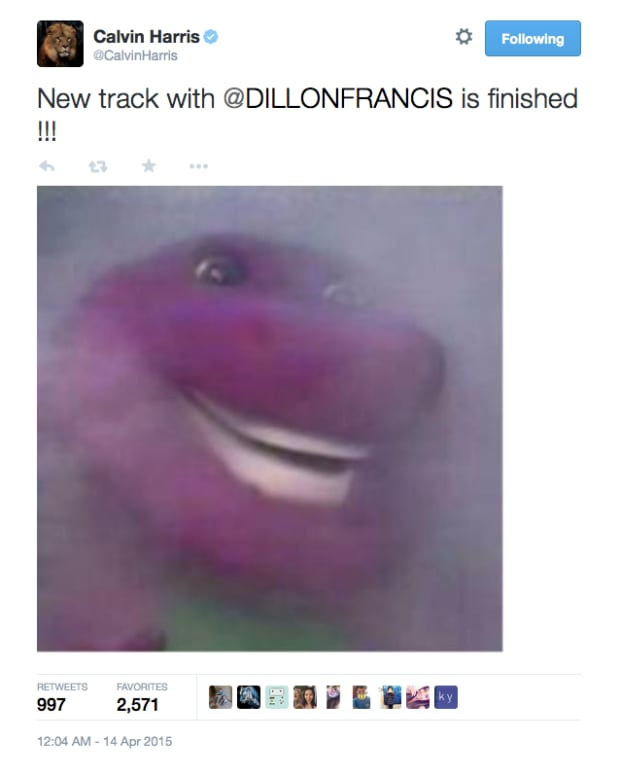 New Calvin Harris & Dillon Francis Track Finished