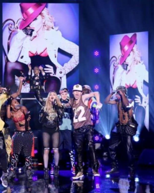 Watch Madonna & Diplo On Jimmy Kimmel