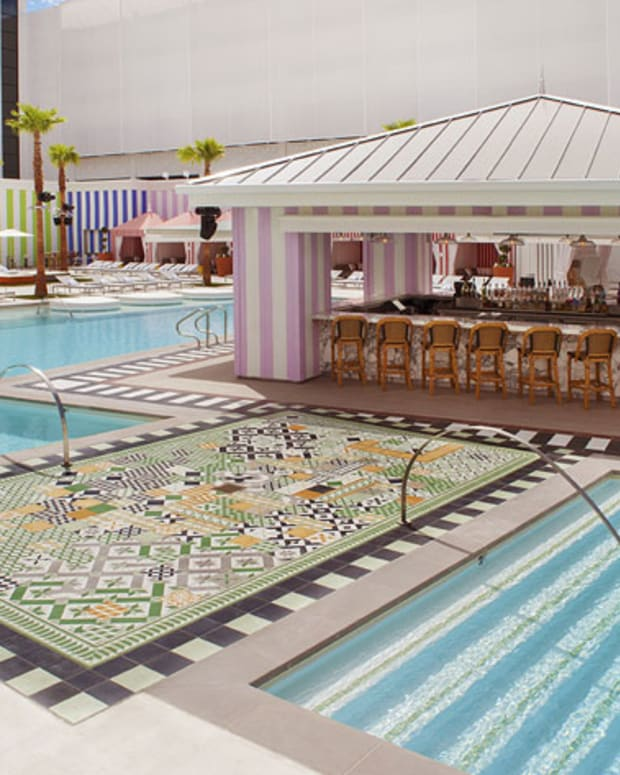 Vegas Starts Early This Season - The Grand Opening Of The Foxtail Pool Club At The SLS Hotel