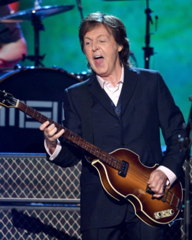 Paul McCartney Plays Techno Inspired Song For The First Time