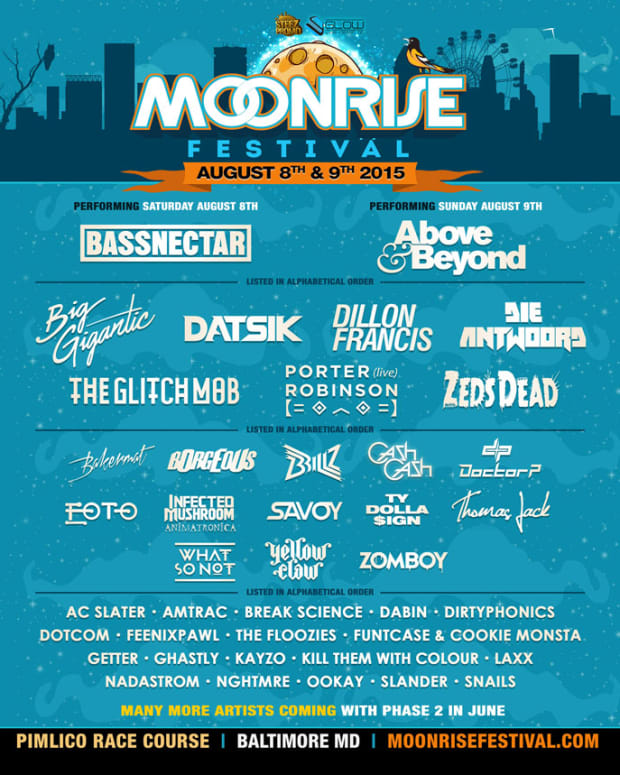 Baltimore's Moonrise Festival Announces Phase 1 Line Up