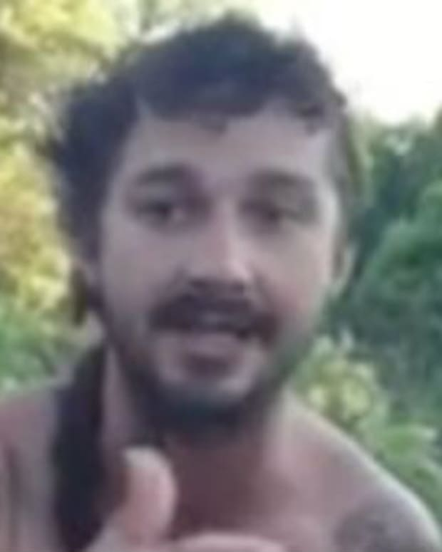 Shia LaBeouf Freestyling In The Woods Is The Greatest Video On The Internet
