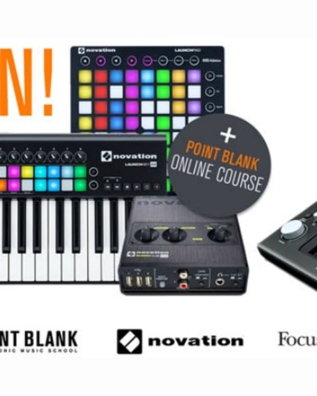 Win Huge Producer Package from Novation & Focusrite Worth Over $2,000
