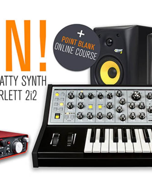 Competition: Win a Moog Sub Phatty Synth!