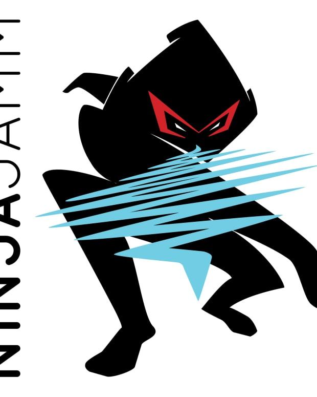 Ninja Jamm wavechucker logo